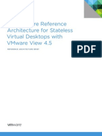 VMware View 45 Stateless