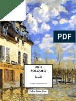 Ugo Foscolo - I sonetti