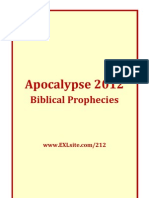 Apocalypse 2012 Prophecies From Bible - Biblical Prophecies 2012