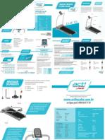 Esteira CALOI CLASSIC CLE 10 - manual