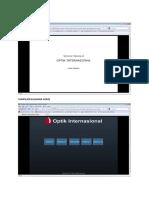 Design Interface Optik Internasional