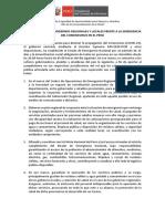 _COMUNICADO A LOS GOBIERNOS REGIONALES Y LOCALES FRENTE A LA EMERGENCIA DEL CORONAVIRUS EN EL PERÚ (1)