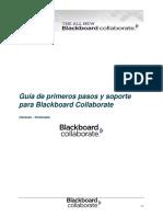 3 Guia de primeros pasos y soporte para Blackboard Collaborate
