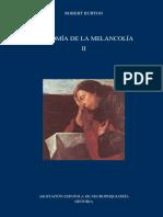 Anatomía de la melancolía II - Robert Burton.pdf