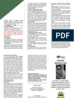 Folder do Acompanhante | Gestante | Projeto Cuidando do Futuro