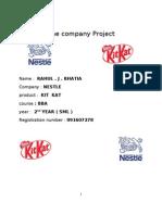 The Company Project Kit Kat