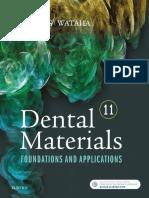 John M. Powers, John C. Wataha - Dental Materials_ Foundations and Applications-Mosby (2016).pdf