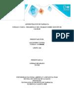 UNIDAD 3 FASE 4  DESARROLLO DEL TRABAJO SOBRE GESTIÓN DE CALIDAD  ALEJANDRO