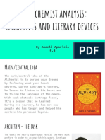 the alchemist analysis  archetypes and literary devices
