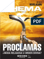 01.- Revista Rhema Ed 82 Enero 2017 ''PROCLAMAS''