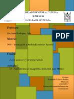 0410-U2A5 - Fundamentos de una política industrial para México