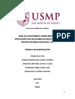 FINAL PROTO Muñante,Granados,Rodriguez,Broggi_Nivel de conocimiento sobre metodos anticonceptivos de mujeres en edad fertil en centros materno infantiles 2017