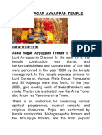 Anna Nagar Ayyappan Temple
