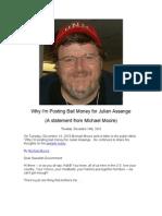 Why I'm Posting Bail for Julian Assange