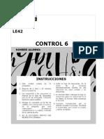 519-LE42 - Control 6 7%