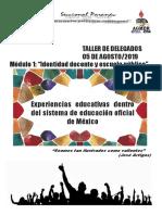 Cartilla CHIAPAS Mexico