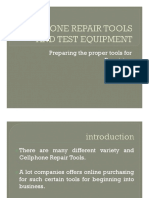 CP REPAIR TOOLS AND EQUIPMENT