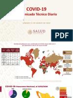 Comunicado Técnico Diario. Salud Covid-19 21.03.2020