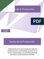 Teoría de la Producción LEIDY