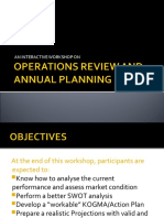 Planning Guide for Non-Operation