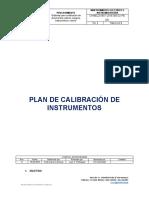 Plan de Calibración