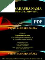 Visnu Sahasra Nama Stotram
