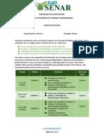 Plano de Estudos - Curso Informática e Internet Intermediário
