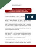PROTOCOLO DE ACTUACIÓN PARA PREVENIR CONTAGIOS CON CORONAVIRUS