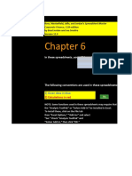 CF 11th edition Chapter 06 Excel Master student