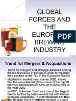 pestel on global forces and the western european brewing industry Global forces and the western european brewing industry pestel analysis what if we do nothing idea 1 idea 2 five forces analysis how will these trends impact differently on these different.
