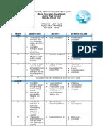 Activity Plan '17 - '18