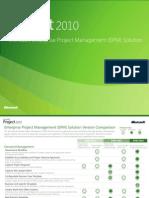 EPM 2010 Version Comparison
