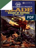 Blade 28 - Wizard of Rentoro - Jeffrey Lord.epub