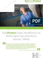 Solo Protect Case Study - Healthcare at Home
