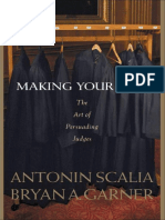 Antonin Scalia_ Bryan A. Garner - Making Your Case_ The Art of Persuading Judges-West Publishing Company (2008) (1)