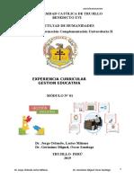 MODULO N° O1 GESTIÓN EDUCATIVA