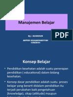 5. Manajemen BELAJAR.pptx