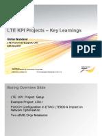 LTE-KPI-Project-Learnings