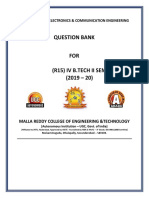 R-15 IV-II SEM QUESTION BANK