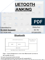 Bluetooth Banking
