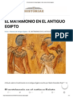 El matrimonio en el antiguo Egipto_ la vida amorosa entre los egipcios