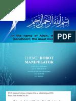 20 ME-MECH 08 Robot Manipulator.pptx