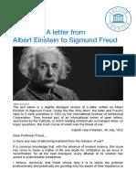 Why war_ A letter from Albert Einstein to Sigmund Freud