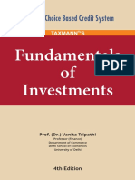 Fundamentals of Investment - Vanita Tripathi