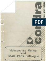 2000 - MAINTENANCE MANUAL & SPARE PARTS CATALOGUE