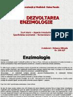 Dezvoltarea Enzimiologiei