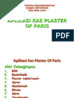 APLIKASI KAS PLASTER OF PARIS (2)