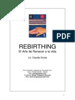 Claudia Dorda - Rebirthing, El arte de renacer a la vida