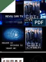 CSI-Cyber Review S02E02
