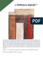 Locandina Ebook e biblioteca digitale
